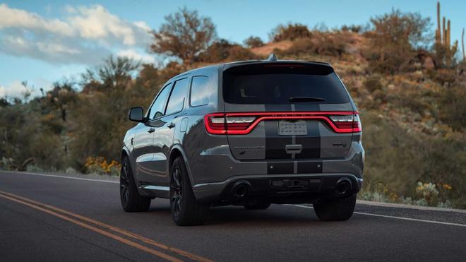 xe co bap Dodge Durango SRT Hellcat 2021 mo ban anh 4