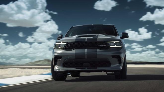 xe co bap Dodge Durango SRT Hellcat 2021 mo ban anh 8