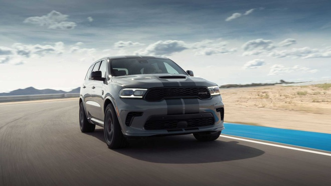 xe co bap Dodge Durango SRT Hellcat 2021 mo ban anh 3