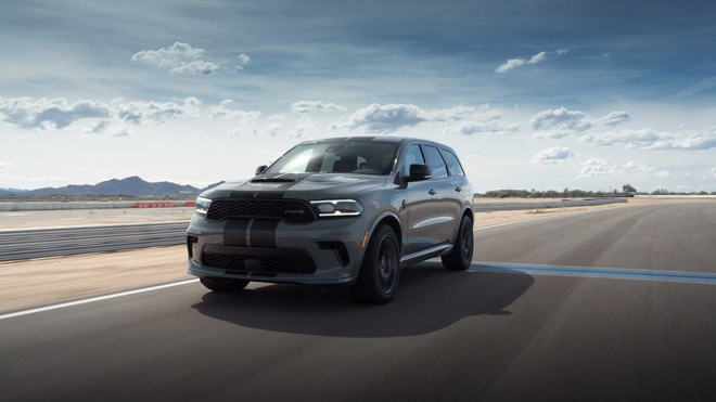 xe co bap Dodge Durango SRT Hellcat 2021 mo ban anh 2