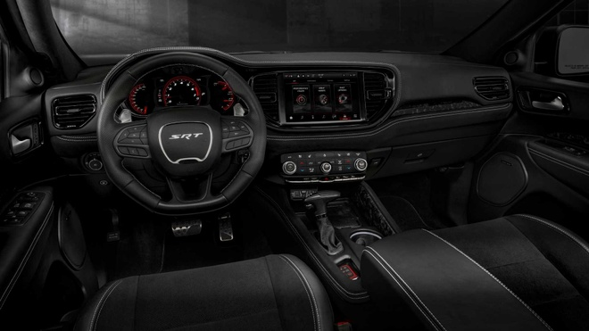 xe co bap Dodge Durango SRT Hellcat 2021 mo ban anh 21