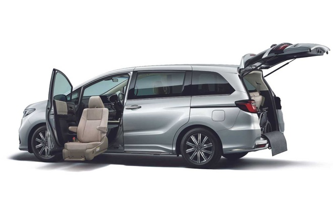 Honda Odyssey 2021 mo ban tai Nhat Ban anh 8