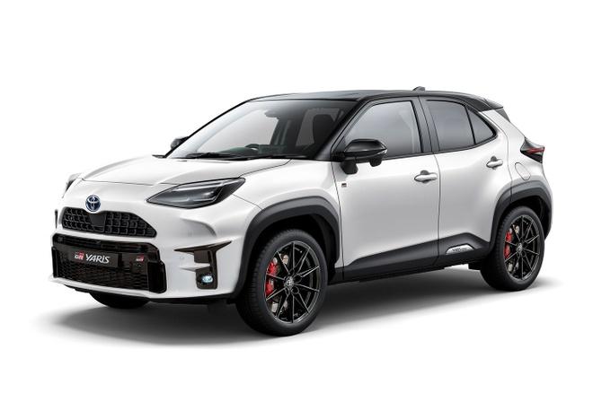 Thiết kế bắt mắt của Toyota GR Yaris Cross.
