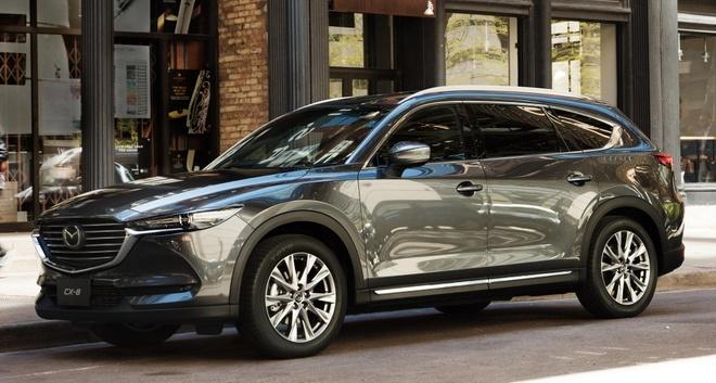Video - Mazda CX-8 chinh thuc mo dat hang, gia tu 1,149 ty dong hinh anh