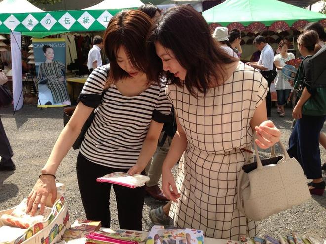 Sản phẩm xuất khẩu sang Nhật Bản, được khách hàng yêu thích. Ảnh: Diệp Sa
