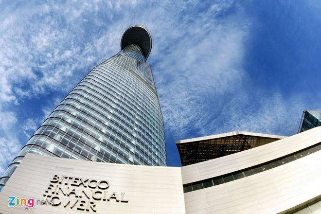 Tòa tháp cao nhất TP HCM đã lấp đầy 90% diện tích thuê.  Ảnh: Hải An.
