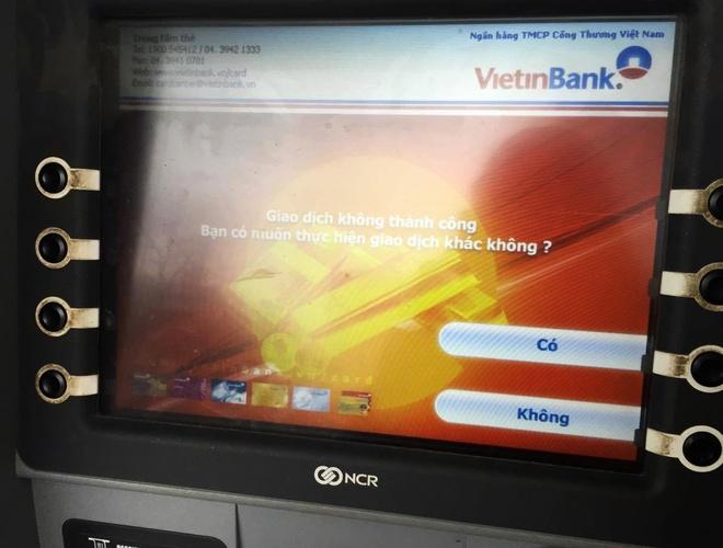 The Eximbank khong rut duoc tien tai ATM hinh anh