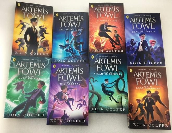 Bo truyen Artemis Fowl anh 1
