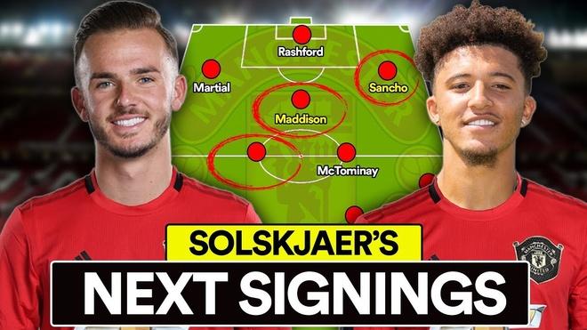 Solskjaer muốn Anh hóa đội hình MU với 200 triệu bảng