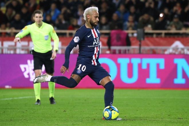 Neymar dat thanh tich tot nhat su nghiep hinh anh 1 Neymar_Monaco.jpg