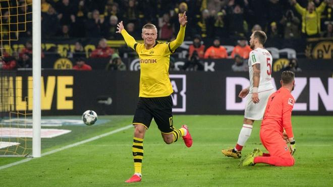 Haaland tren duong tro thanh ngoi sao so mot Dortmund hinh anh 1 haaland_dortmund.jpg