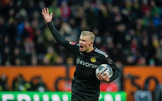 Haaland tren duong tro thanh ngoi sao so mot Dortmund hinh anh 2 haland2.jpg