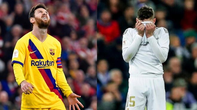 Real va Barca cung bi loai khoi cup nha Vua sau 65 nam hinh anh 1 Barca_Real.jpg