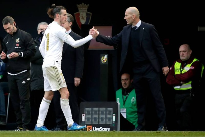 HLV Zidane: 'Nguoi ta muon dung Bale de hai toi' hinh anh 1 baledane.jpg