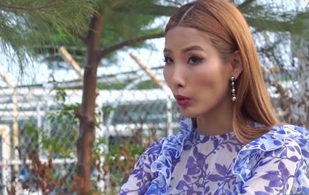 The Face tap 5: Hoang Thuy van miet mai 'bung' tuc ngu hinh anh