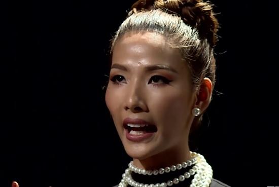 The Face tap 6: Thua 5 lan, Hoang Thuy van co cau tuc ngu de doi hinh anh