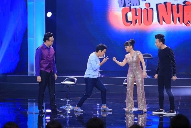 TV Show: Truong Giang 'ban' tieng Han khien Viet Huong choang vang hinh anh