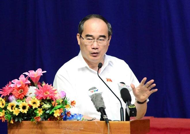 Bi thu Nguyen Thien Nhan: 'Chung toi khong gat ba con dau' hinh anh