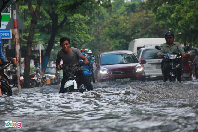 Sài Gòn có nguy cơ ngập trên diện rộng – Đời sống