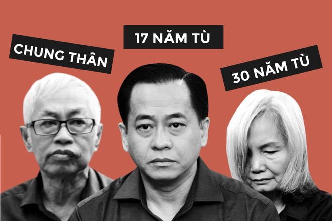 Vu 'nhom' linh 17 nam tu, Tran Phuong Binh nhan an chung than hinh anh