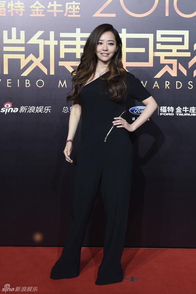 Dan sao Hoa ngu noi bat trong dem trao giai Weibo hinh anh 6