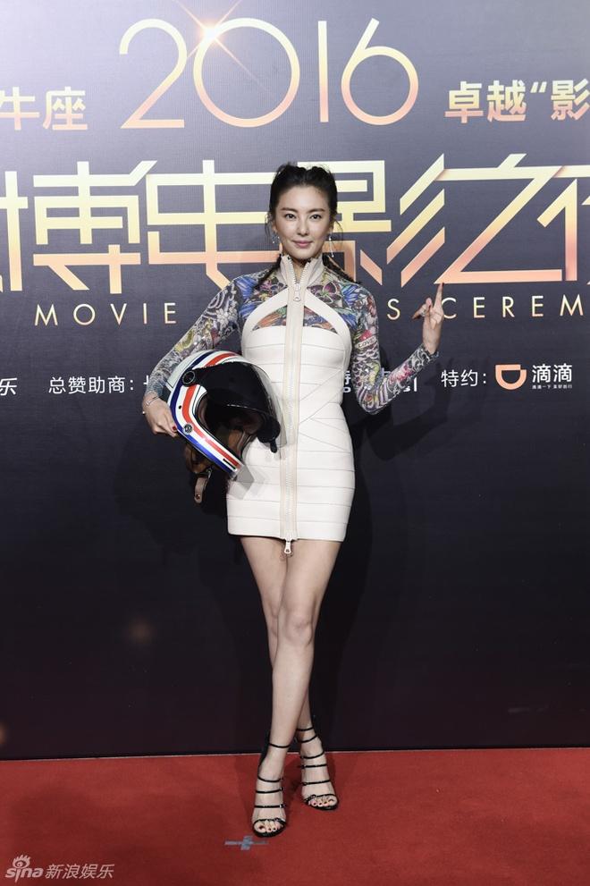 Dan sao Hoa ngu noi bat trong dem trao giai Weibo hinh anh 5