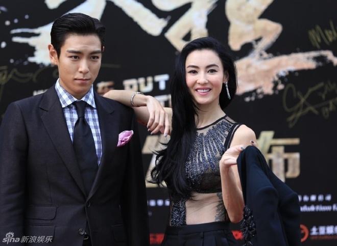 T.O.P (Big Bang) tinh cam voi Truong Ba Chi tren tham do hinh anh 4