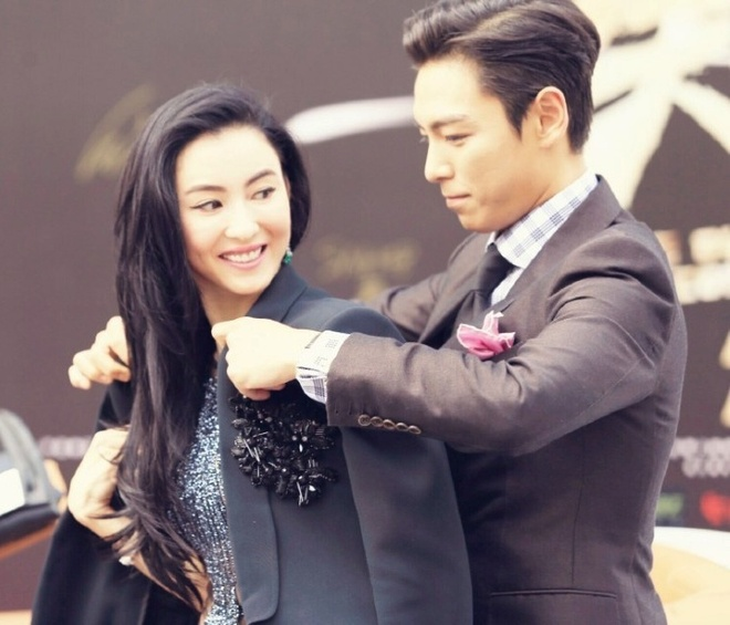 T.O.P (Big Bang) tinh cam voi Truong Ba Chi tren tham do hinh anh 3