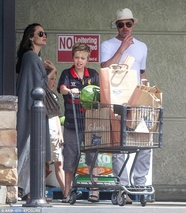 Angelina Jolie va Brad Pitt ben nhau giua tin don ly hon hinh anh 1