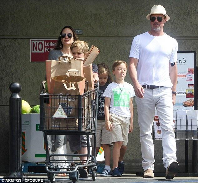 Angelina Jolie va Brad Pitt ben nhau giua tin don ly hon hinh anh 2