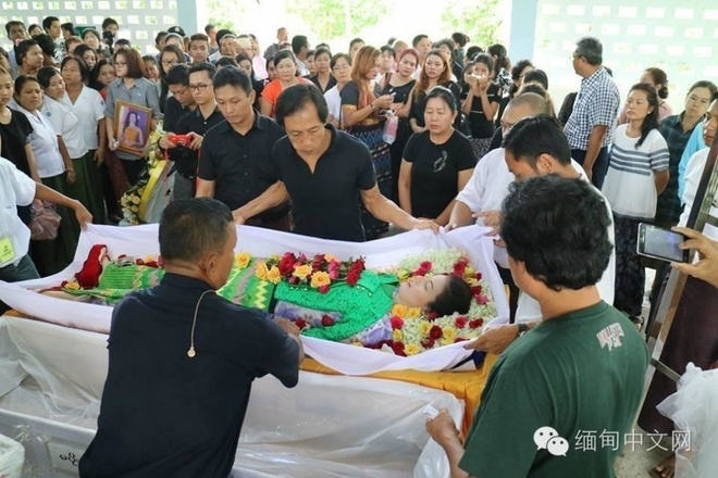 Le tang day nuoc mat cua thi sinh Hoa hau Myanmar vua dot tu hinh anh 2