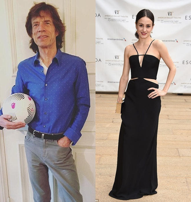 Thanh vien Rolling Stones sap lam cha o tuoi 72 hinh anh 1
