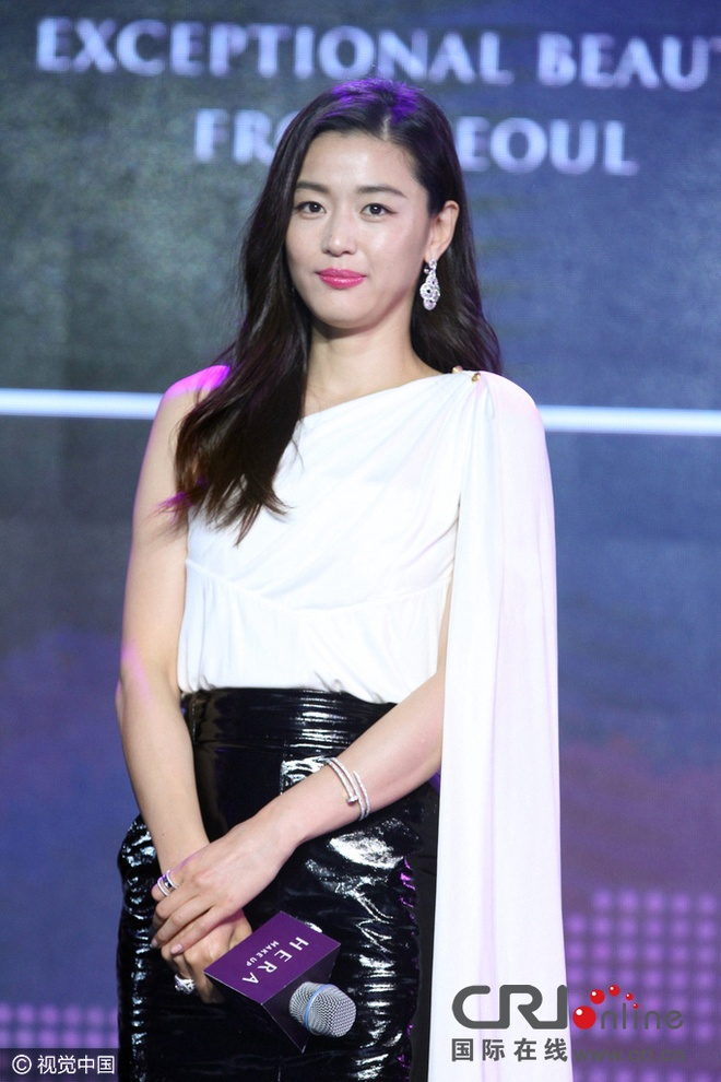 Jeon Ji Hyun thon tha sau sinh nho no luc giam can hinh anh 3