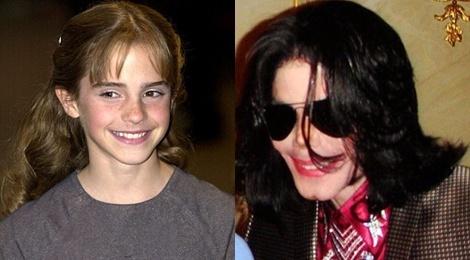 Michael Jackson tung muon cuoi Emma Watson khi co 11 tuoi hinh anh