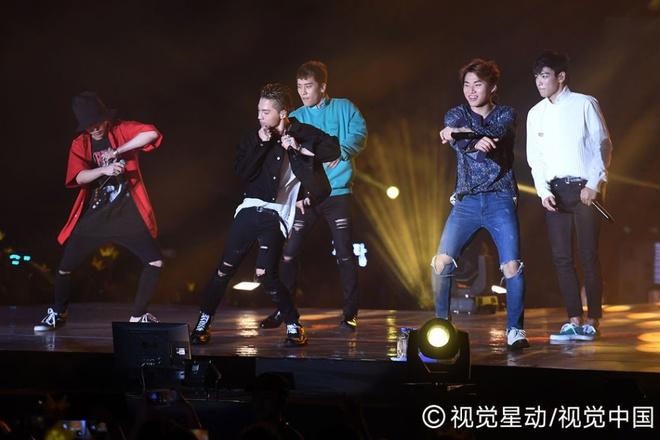 Sao Hong Kong cung cuong voi live show cua Big Bang hinh anh 2
