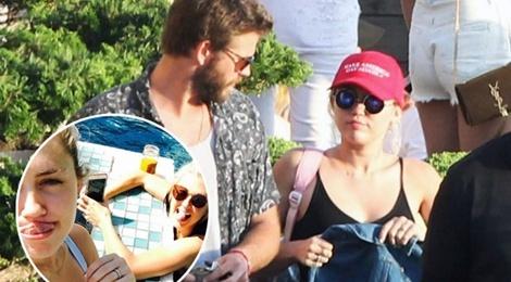 Miley Cyrus va Liam Hemsworth da bi mat ket hon hinh anh