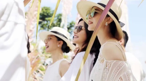 'Ban, thu' trong showbiz Hoa ngu tai dam cuoi Lam Tam Nhu hinh anh
