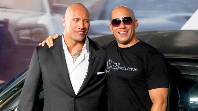 The Rock tiep tuc gay tranh cai khi phot lo Vin Diesel hinh anh 1