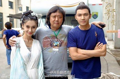 Phim cua Angelababy, Chung Han Luong quay voi vang hinh anh 1