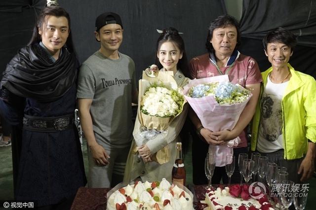 Phim cua Angelababy, Chung Han Luong quay voi vang hinh anh 2