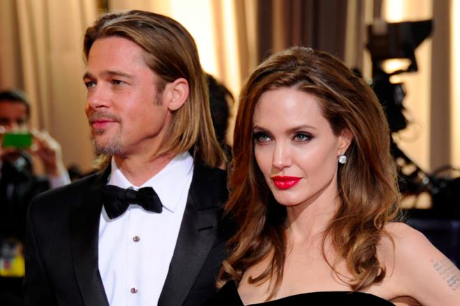 Angelina Jolie - Brad Pitt: 12 nam thien tinh su Hollywood hinh anh 15