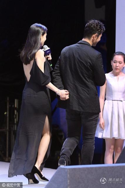 Angelababy mac vay nhau trong su kien cung Huynh Hieu Minh hinh anh 8