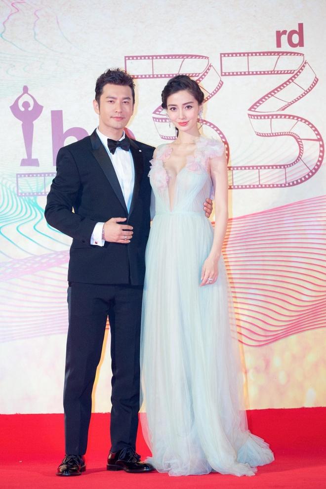Angelababy duoc Huynh Hieu Minh thap tung tren tham do hinh anh 1
