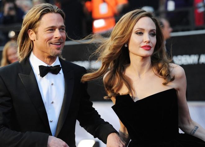 Brad Pitt va Angelina Jolie ly hon anh 1