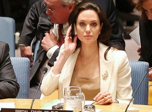 Brad Pitt lo so khi Angelina tham vong chuc tong thu ky LHQ hinh anh 2