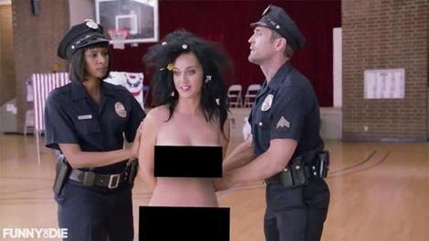 Katy Perry chia se anh khoa than ngam ung ho ba Hillary hinh anh