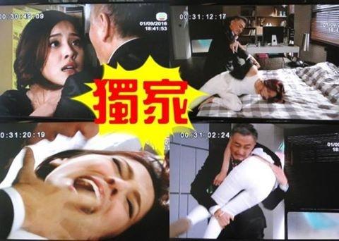 Phim TVB bi chi trich vi canh hoa hau bi cha nuoi cuong hiep hinh anh 1