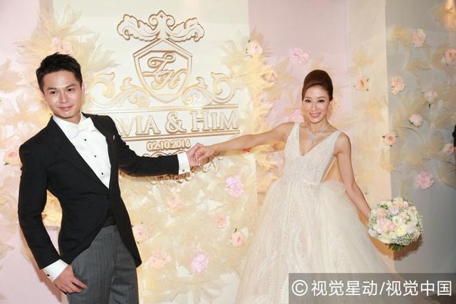 Dan anh hau, anh de TVB te tuu tai dam cuoi Duong Di hinh anh 4
