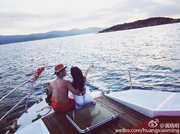 Huynh Hieu Minh xac nhan Angelababy dang mang bau hinh anh 4