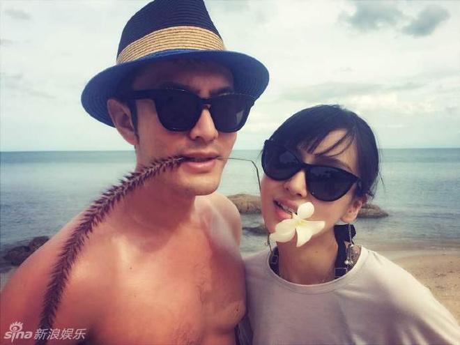 Huynh Hieu Minh xac nhan Angelababy dang mang bau hinh anh 3
